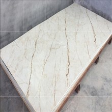 fire retardant faux stone marble wall panels for home wall decoration