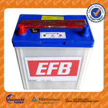 12V 32AH wholesale mf lead acid 55d23 car battery in korean quality Car Battery 12V 32ah