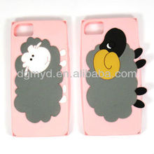 cartoon and fashionable silicone animal shaped phone cases