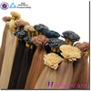Remy flat tip Double Drawn Keratin Human Hair Extension