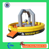 funny inflatable wrecking ball for sale inflatable game juegos inflables
