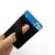 2017 popular leather phone ring holder for fabric Elastic band holder