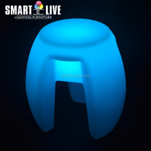 2016 color changing funky led bar stool