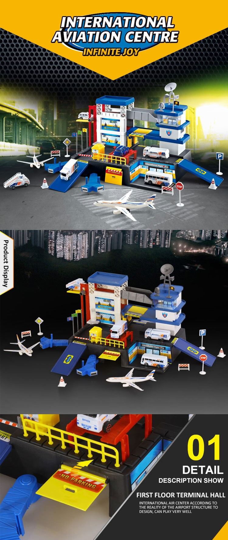 Hot Selling Educational Toys Police Station For Kids