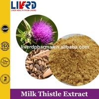 Milk Thistle Seed P.E for Silymarin 80%