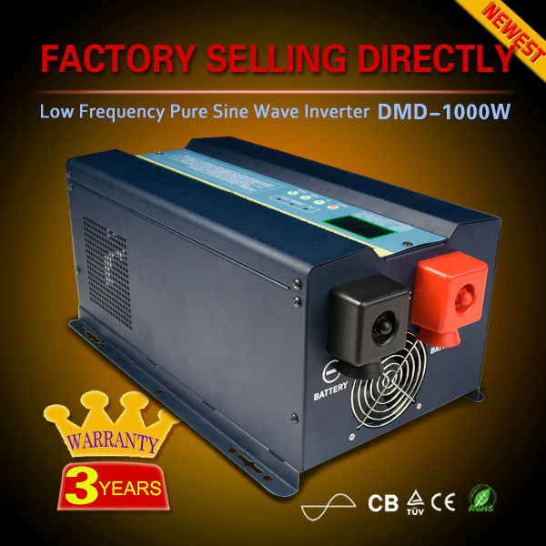 Good quality low frequency pure sine wave off grid dc to ac power inverter 1000v 24v 220v 2000w 3000w 4000w