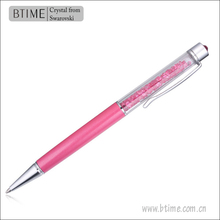 Btime Made With Swarovski Elements Crystal Promotional Pen