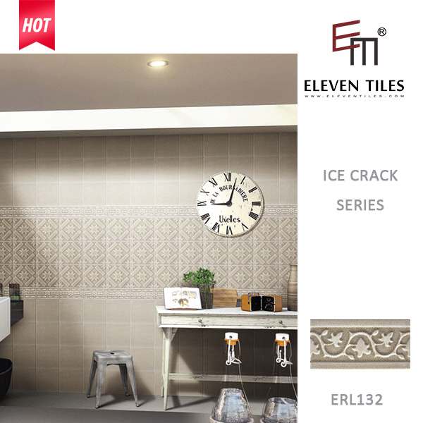 Eleven grey wear-resistant islamic wall borders for kitchen