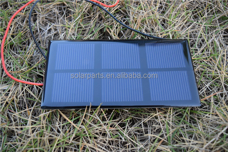 Energy Products Custom made 0.6W 1.5V 400mA Epoxy Resin Small Size Solar Modules 60*90mm