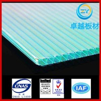 Zhuoyue 100% Bayer material 10 years guarantee crystal pc sheet