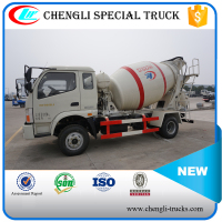 FOTON Forland 4x2 6Wheels 4cbm Cement Mixer Concrete Mixing Truck Self loading Manufacturer