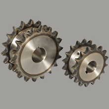 MMS OEM Three wheel battery tricycle spare parts sprocket gear , double gear, two parts gear