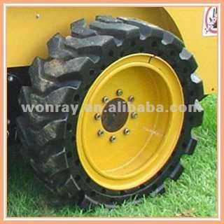 cheap wheel loader tires, 17.5-25 Skid Steer rubber bobcat Solid tires for loader