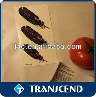 water transfer body art temporary tattoo sticker /New Fashionable Mixed Gold & Sliver Temporary Metallic Tattoo Sticker
