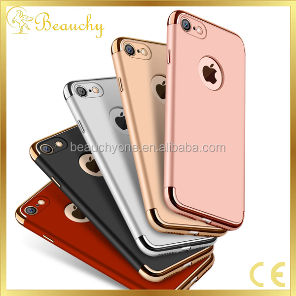 High quality For iphone7 case PC + TPU silicone protective Back cover for Iphone 7 plus case
