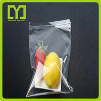 Plastic OPP Poly Self Adhesive Bag With Printed Header And Hang Hole Plastic OPP Packaging Bag