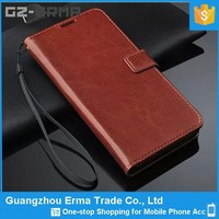 Wholesale Alibaba PU Leather Mobile Phone Wallet Case Cover for htc desire 820
