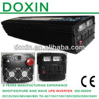 12v 220v DC to AC Power Inverter With Battery Charger 5000w