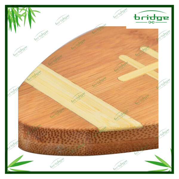 Beauty design oval shape bamboo cutting board