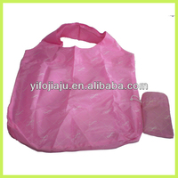 Easy Carry Polyster Folding Shopping Bag with logo