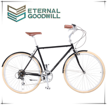 700C ancient bike made of CR-MO used for working and school bike/vintage bike GW3062