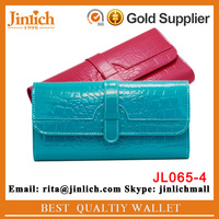 New design woman fashion wallet custom-made 3 folding hand bag casual purse