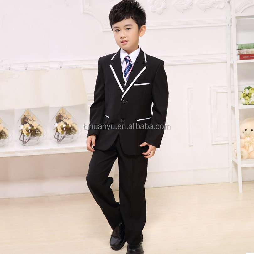 Fashion Party Boy Suits Tuxido Boys Wedding Suits - Buy Five-piece ...