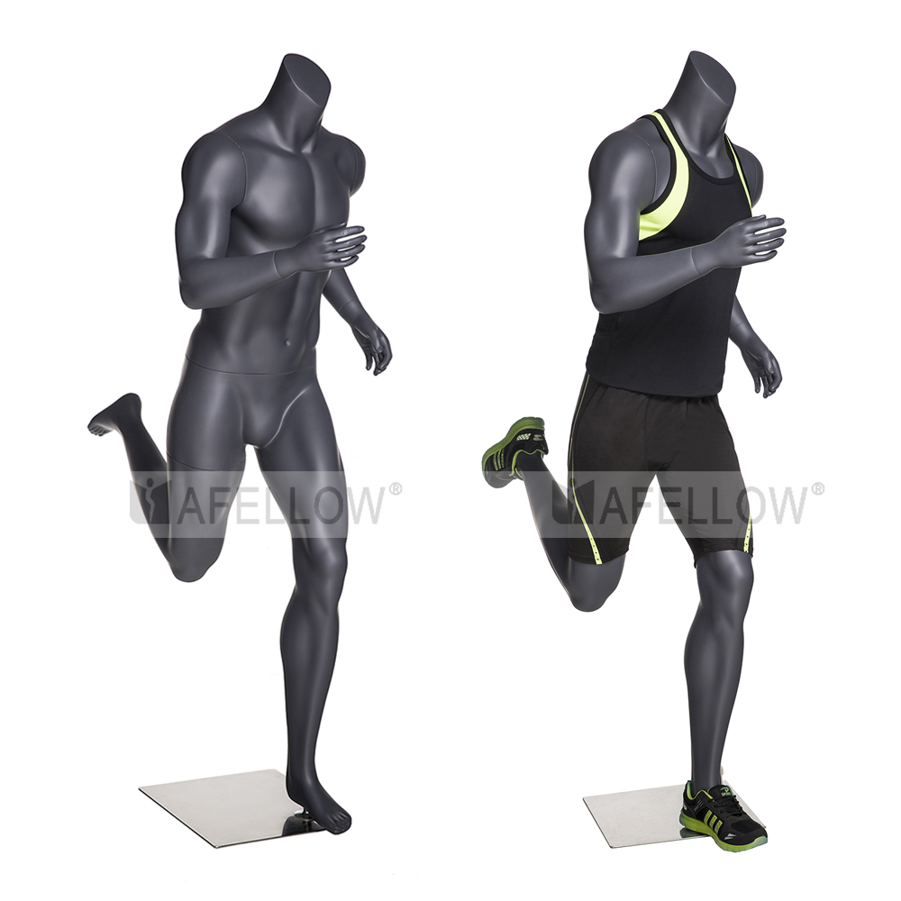 NI-4 realistic muscle male sport mannequin