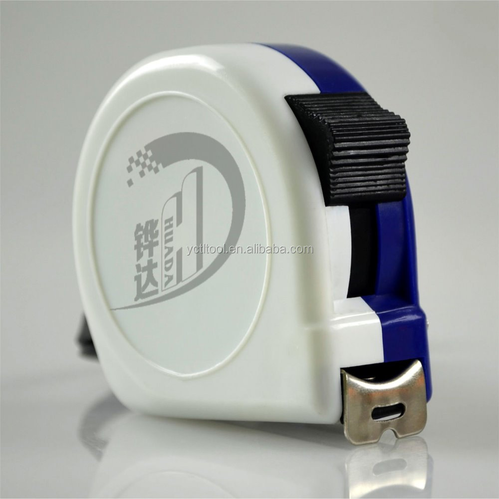 Classic blue and white measure tape,tape measure good selling measure tool