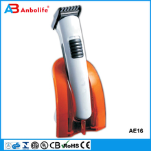 Anbo Rechargeable Hair Clipper Hair Trimmer Easy Maintenance And Repair With Stand Base