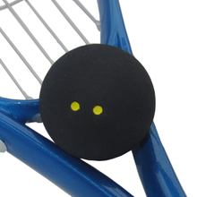 Fangcan competition squash ball two yellow dots low speed squash ball for professional player