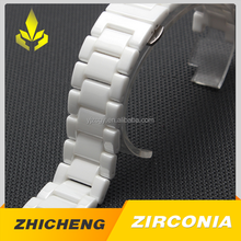 New fashion high glossiness decoration zirconia ceramic watch band