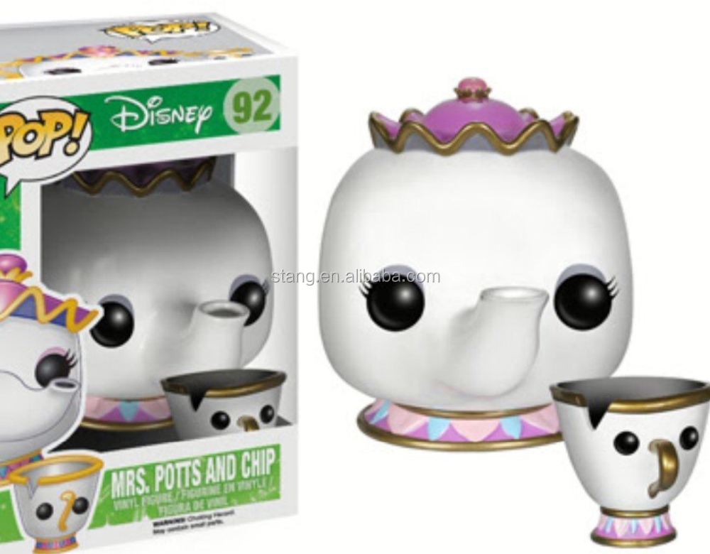 Mrs. Potts and Chip/Gizmo/Zero Vinyl Action Figure