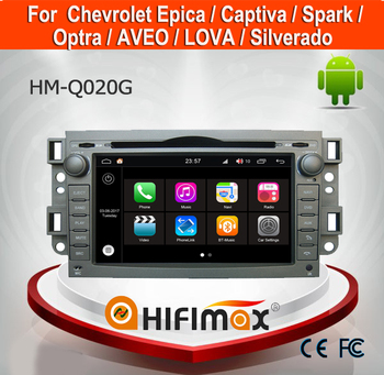 HIFIMAX 7'' Android 7.1 Touch Screen Car Radio GPS For Chevrolet Aveo(2007-2010)/LOVA (2006-2010) DVD Player With 2G RAM