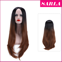 SARLA Wholesale two tone ombre syntetic hair wig