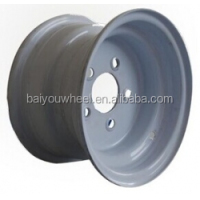 10inch ATV wheel with 5bolt holes 5*114.3 4*101.6 PCD 10*6''