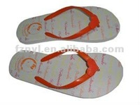beautiful girl beach products or indoor flat slippers ,shoe manufactures slipper