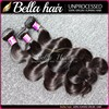 Double drawn Bella full cuticle nice luster 100% raw brazilian hair,excellent quality low price fast delivery virgin hair