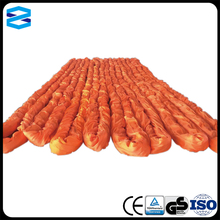 100 ton 10 meters with CE certificate heavy duty polyester round sling