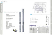 Deep Well Submersible Centrifugal Theory Pump(4HQJD8-S)