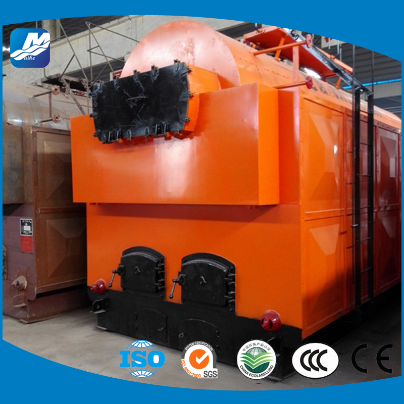 Water and fire Tube Coal/Biomass Fired Grate Type high pressure steam boiler