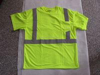 Wholesale Fluorescent Short Sleeves High Visibility T-shirt Polo