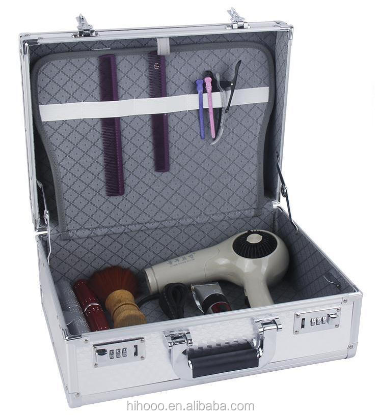 Top quality Portable Hairdresser Aluminum Barber Tool Case