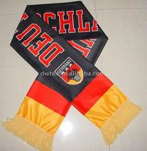 2011new batch polyeater or viscose printed soccer scarf
