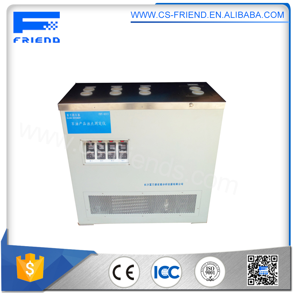 FDT-0314 ASTM D2500 Multifunctional Low Temperature pour/cold filter plugging /cloud point apparatus
