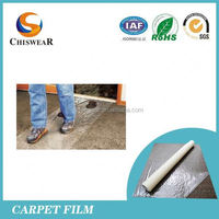 plastic film for carpet protection