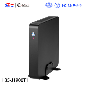 Realan Newest H35-J1900T1 Intel celeron J1900 CPU fanless mini pc