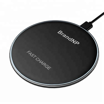 2017 new design wireless charger for Iphone 8/plus/X QI technology high quality