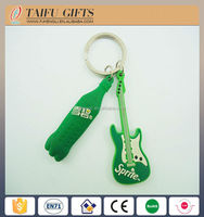 Fashion promotional silicone key chain / soft pvc Key chain