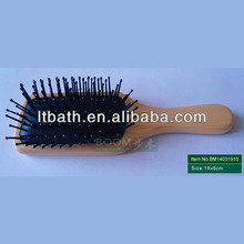 professional wooden hair brush factory,producer best sales wooden hair brush, detangling hair brush